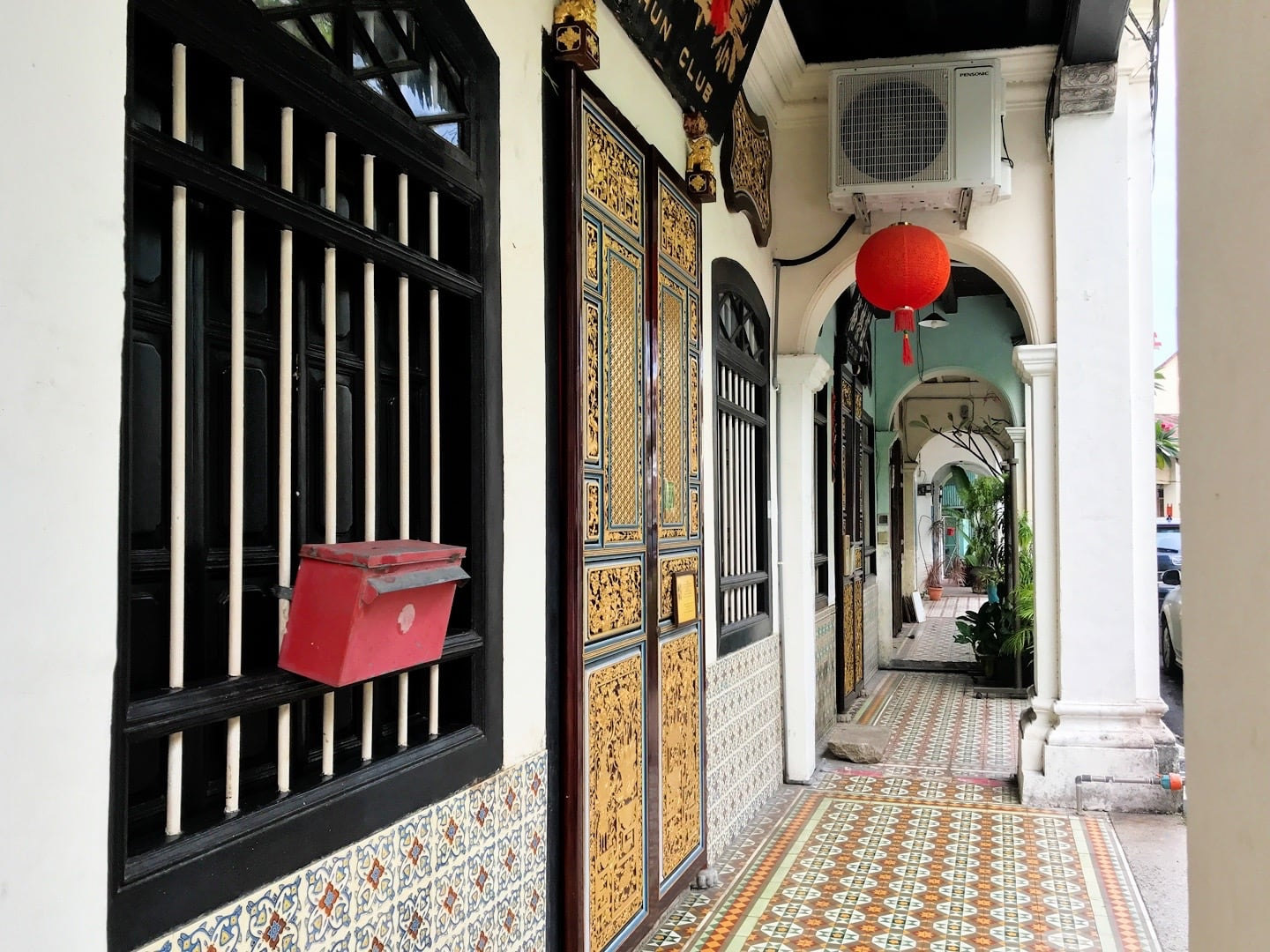 Chinese Shop House George Town Penang