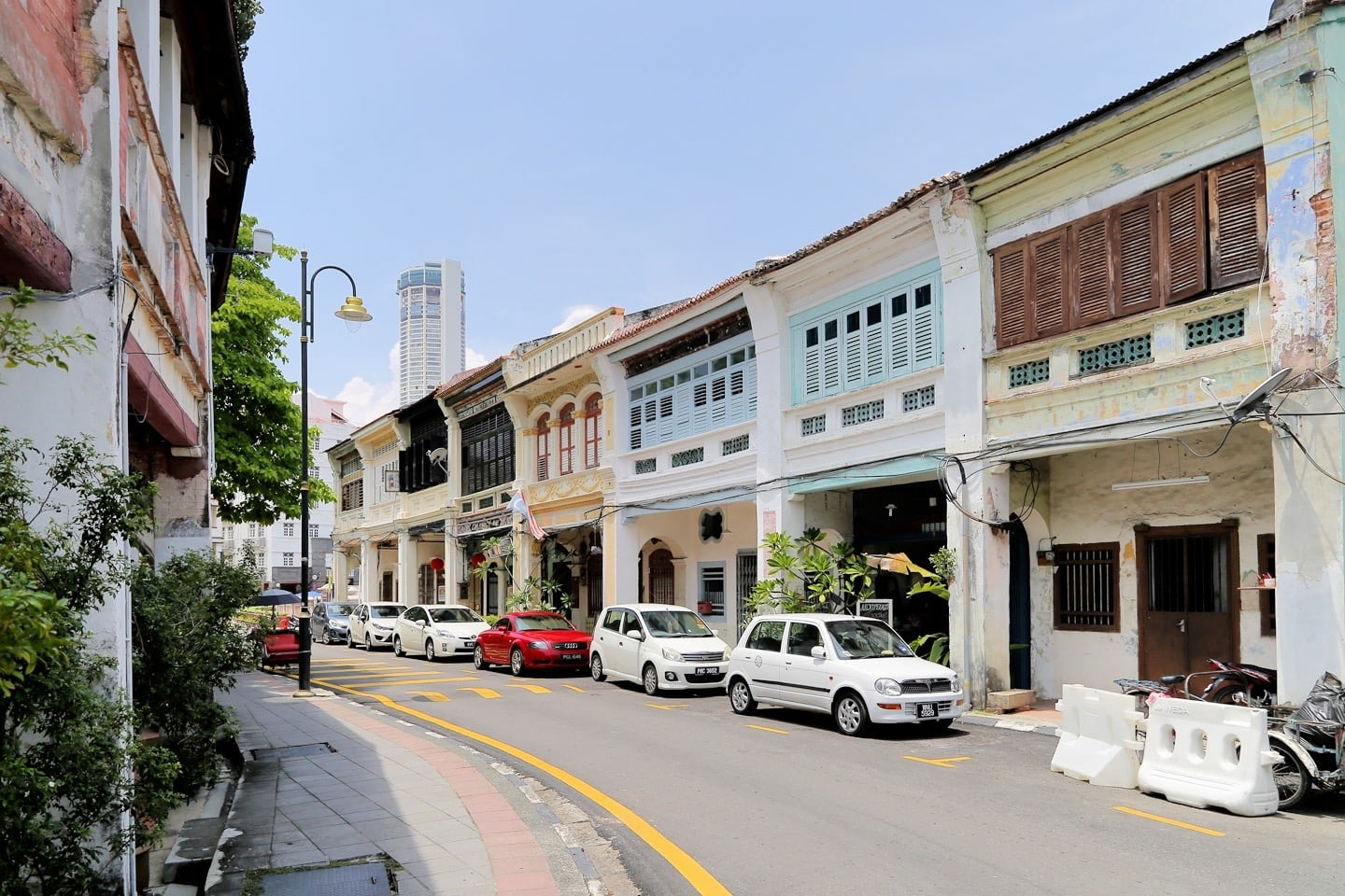 streets of George Town Penang