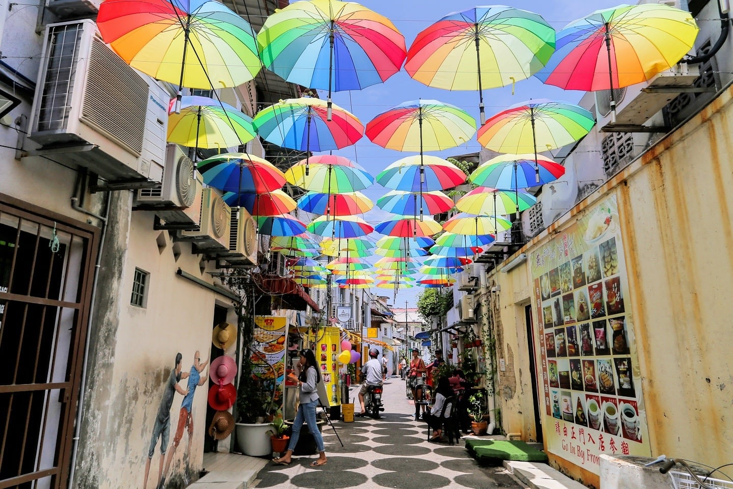 Umbrella Alley George Town Penang
