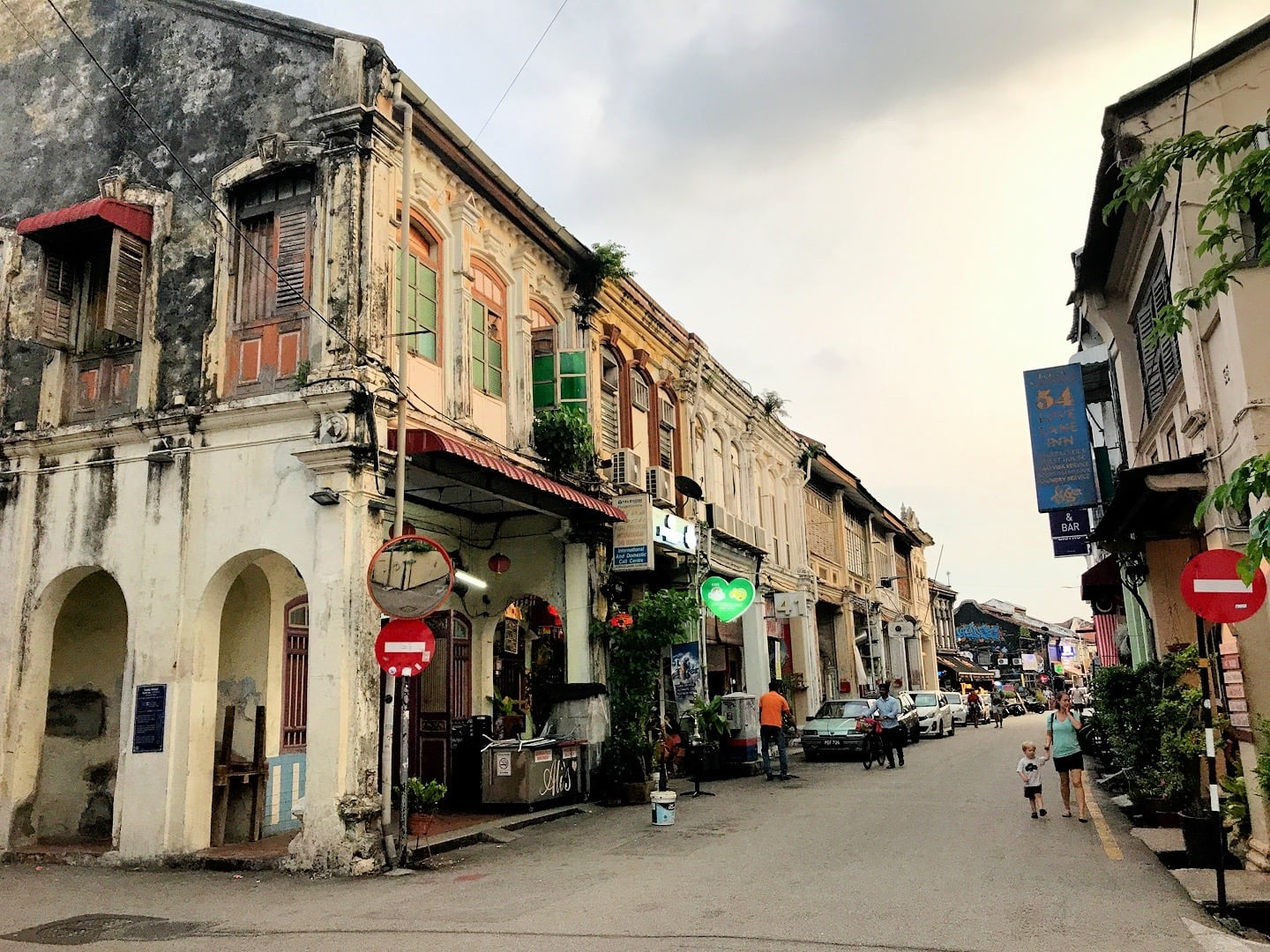 Love Lane in George Town Penang