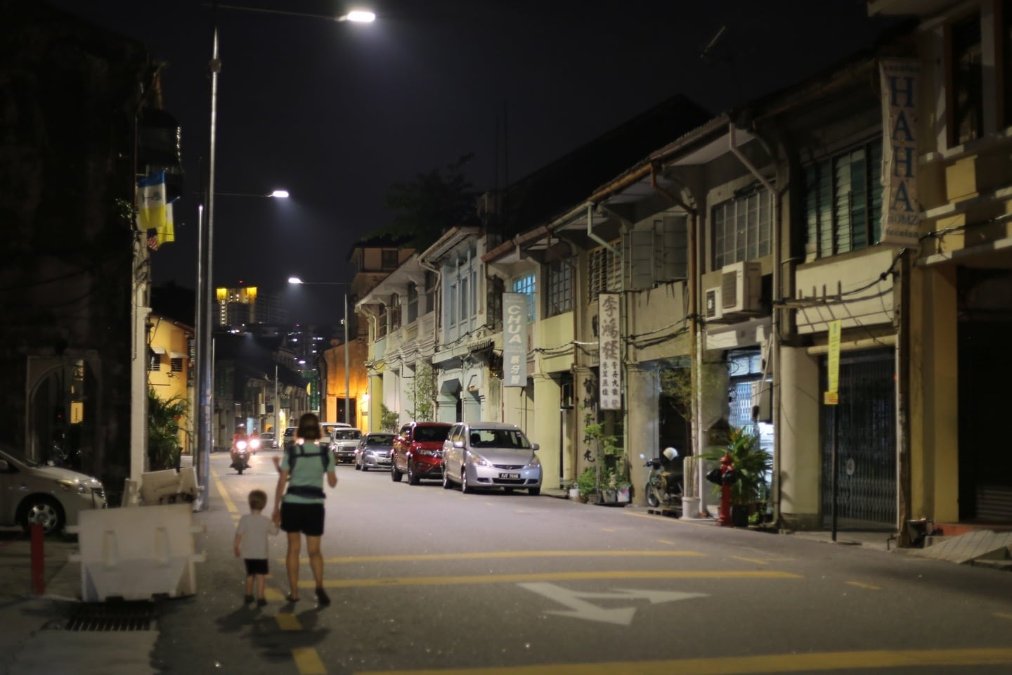 George Town Penang by night