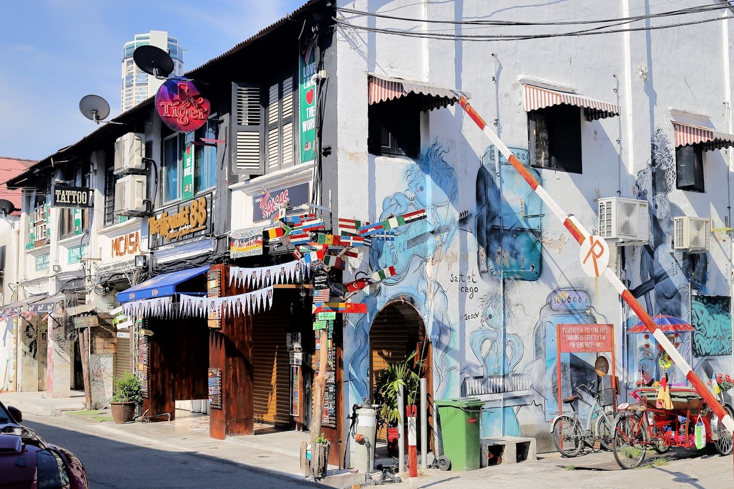 Love Lane and Chulia Street George Town Penang