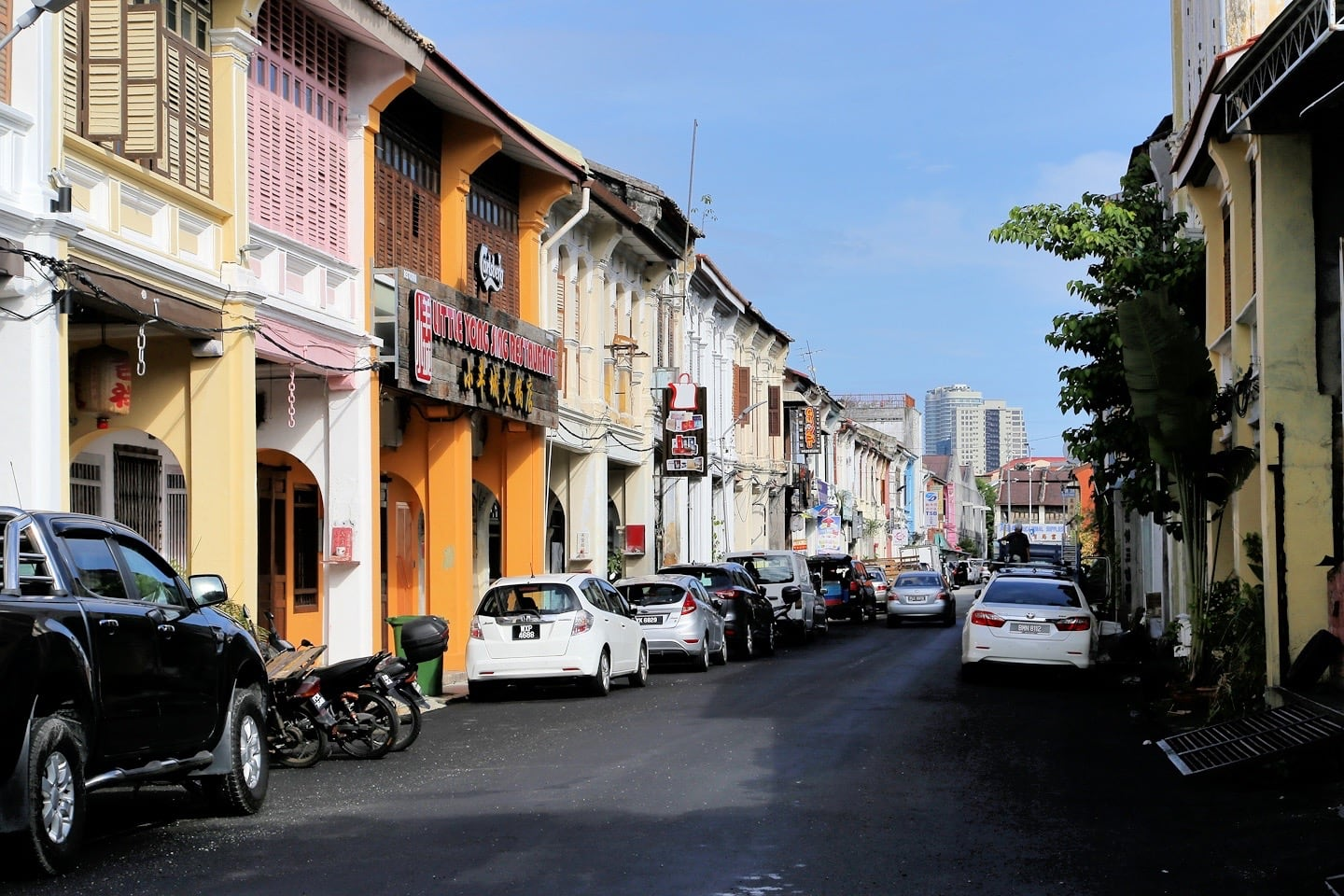 walking the streets of George Town Penang