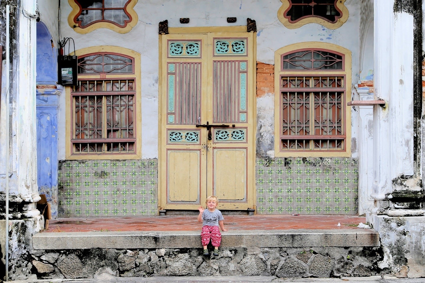 old shophouse George Town Penang
