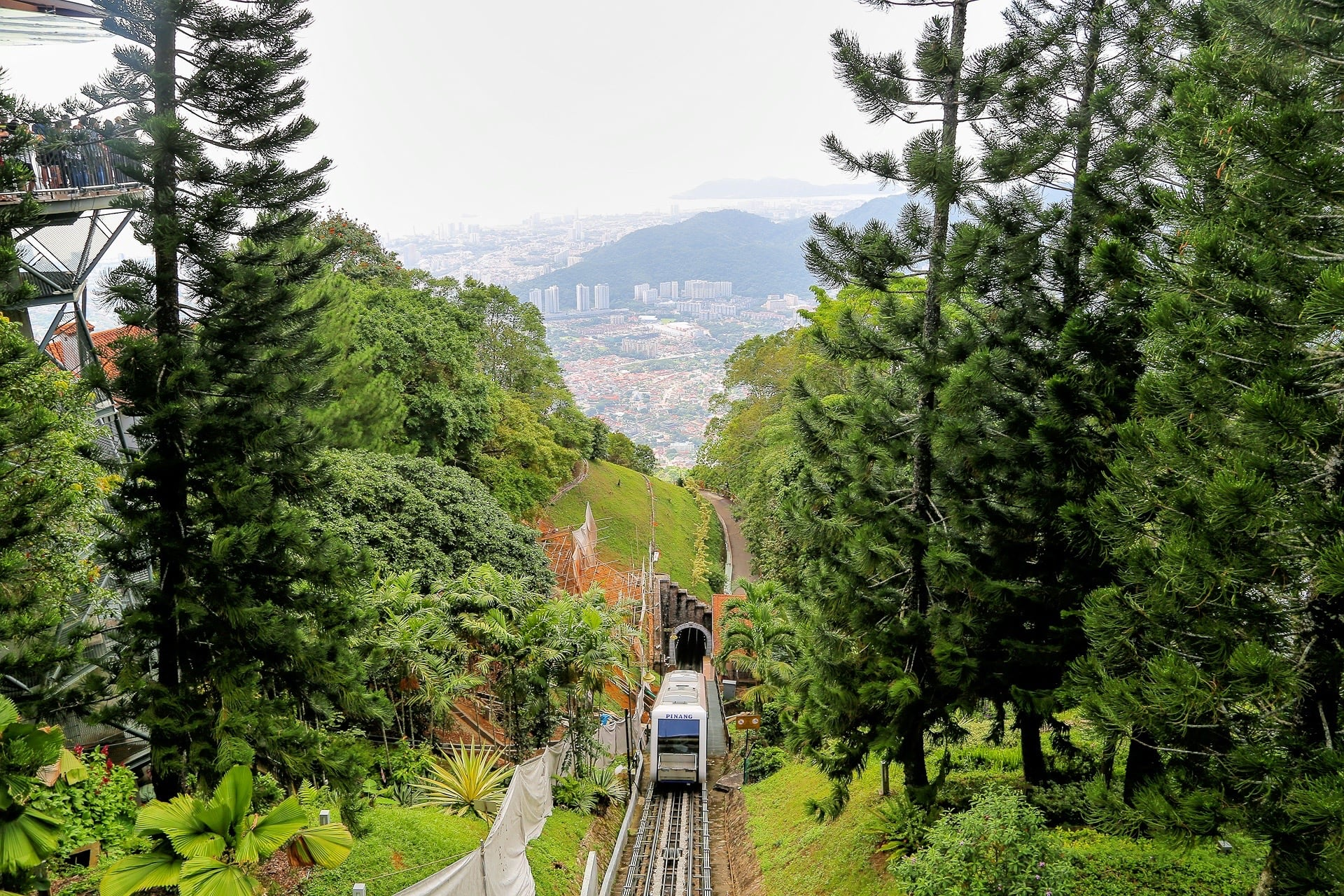 Penang Hill Malaysia review and attractions