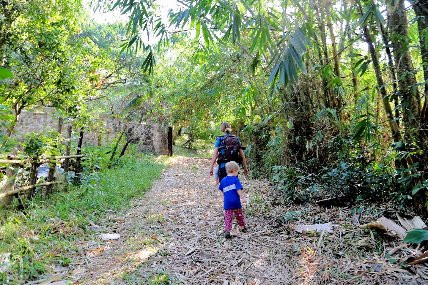 path to Kep National Park