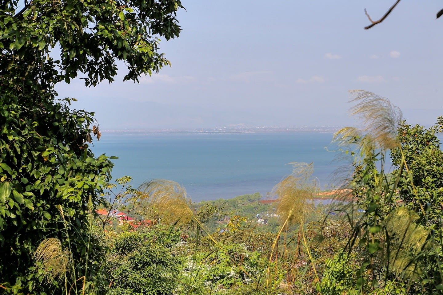 view of bay from Kep National Park