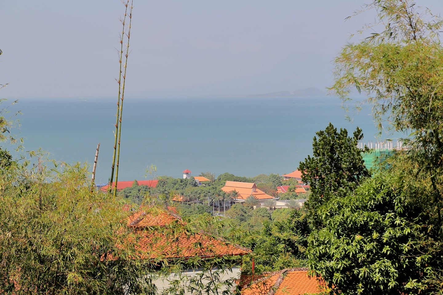 view from Le Bout du Monde Kep National Park