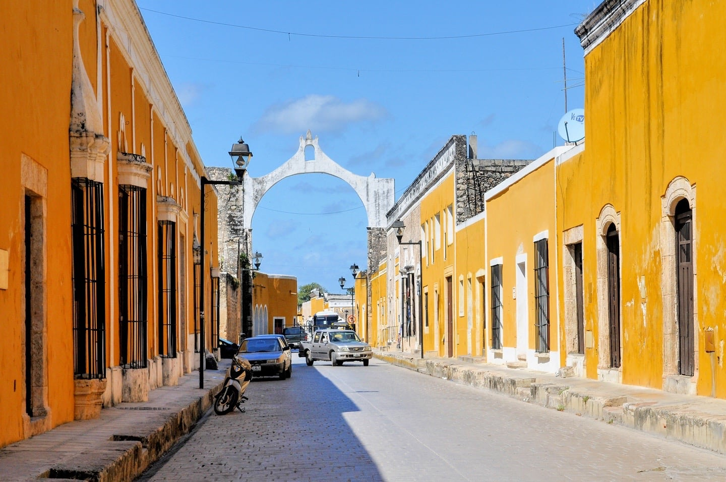 Izamal Mexico Spanish colonial architecture