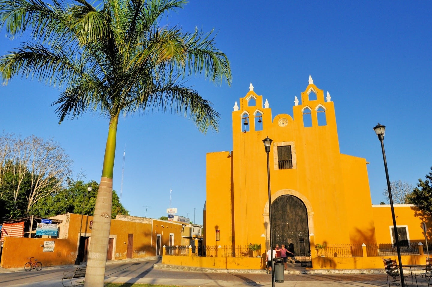 Izamal Mexico striking yellow church
