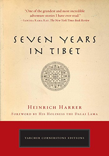 Seven Years in Tibet best travel books