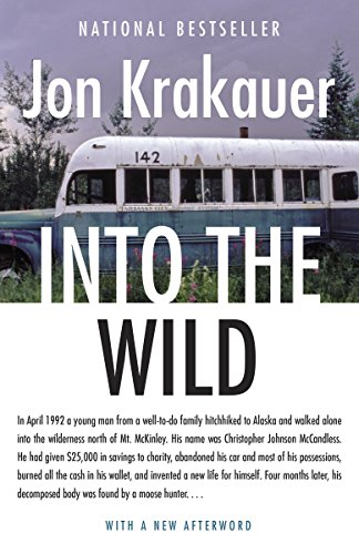 Into the Wild best travel books