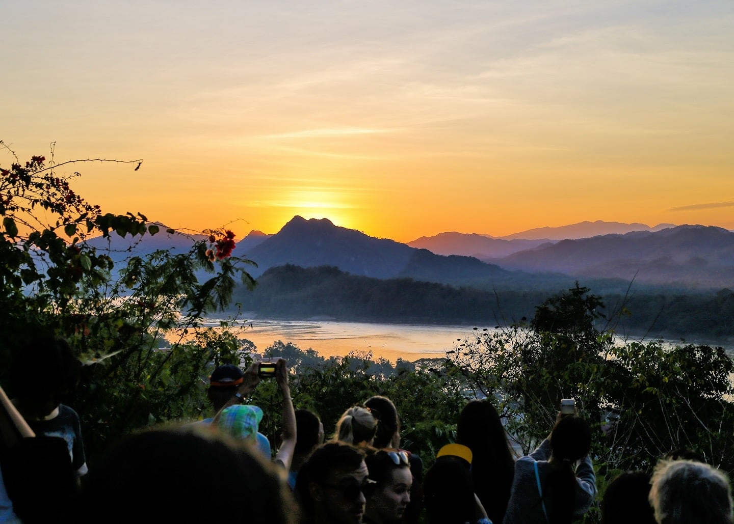 amazing things to do in Luang Prabang climb Mt. Phasi