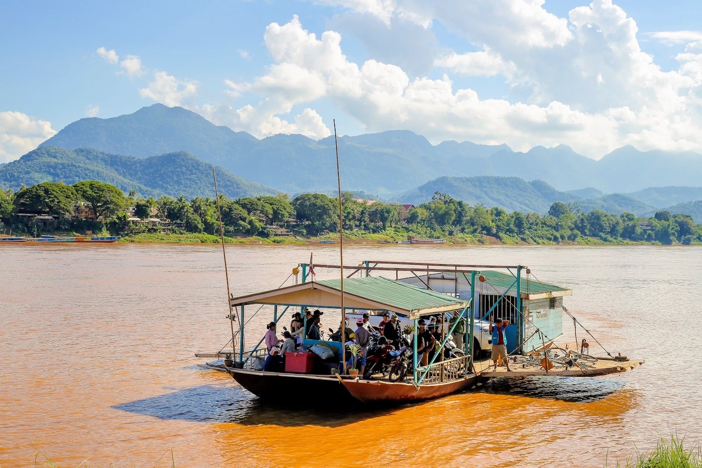 Mekong ferry things to do in Luang Prabang