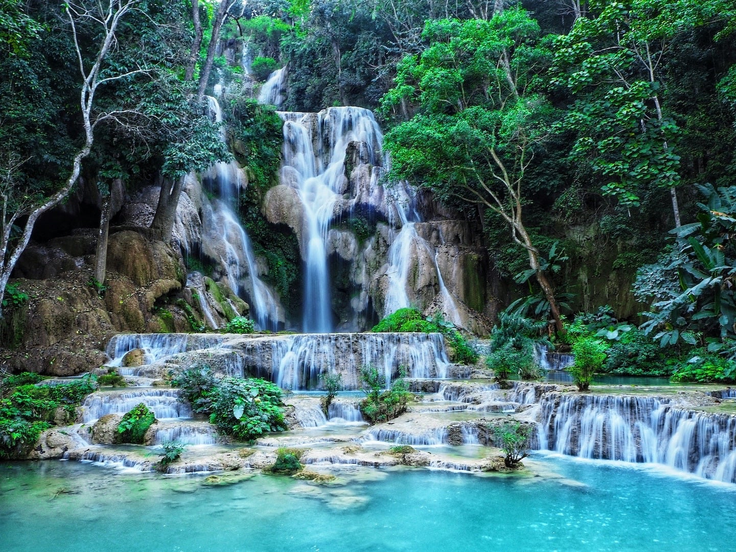 Kuang Si Falls things to do in Luang Prabang