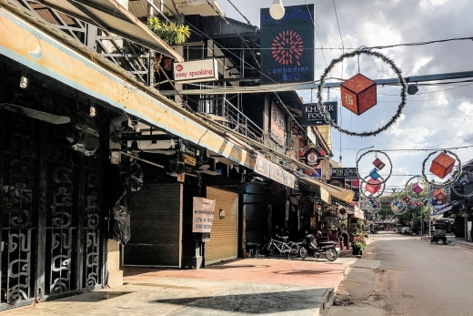 Cut-Off & Abandoned: A Visit to Siem Reap in the Time of Covid