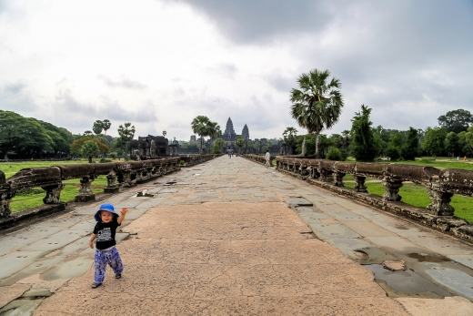 Alone at Angkor Wat in the Time of Covid