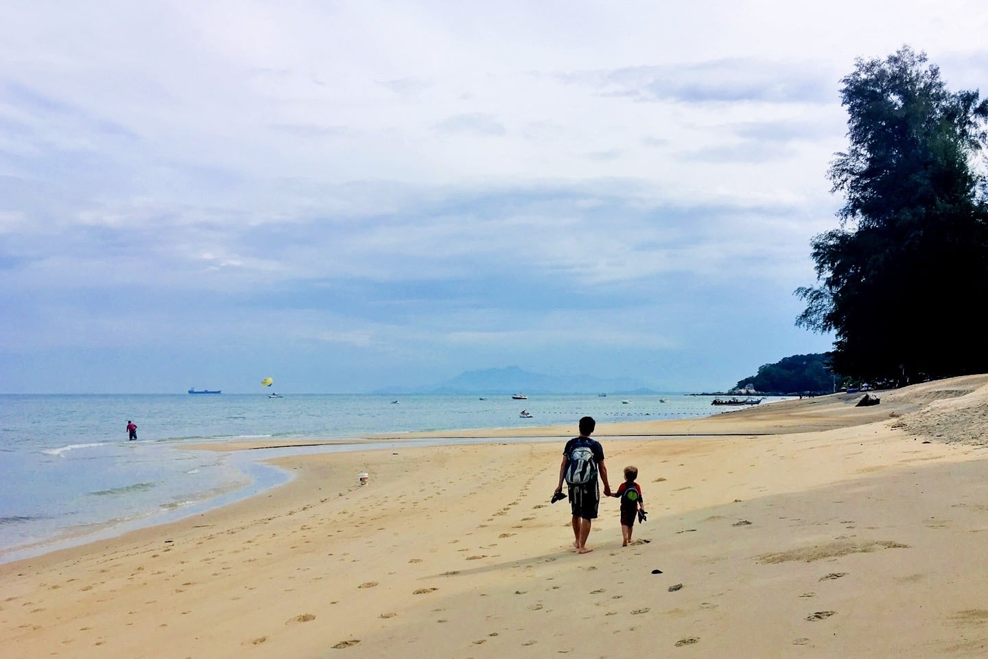 things to do in Penang beach time