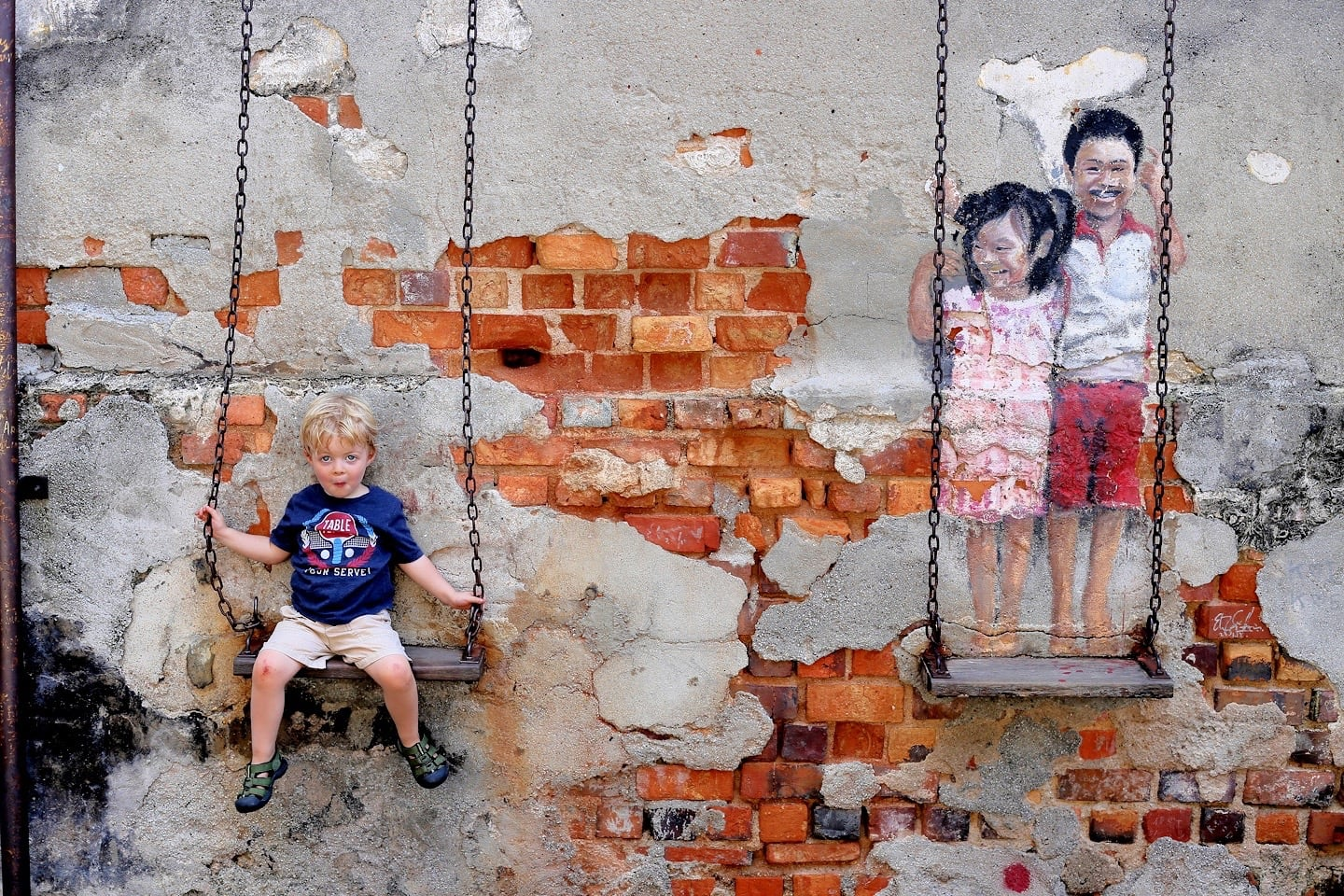 things to do in Penang street art murals