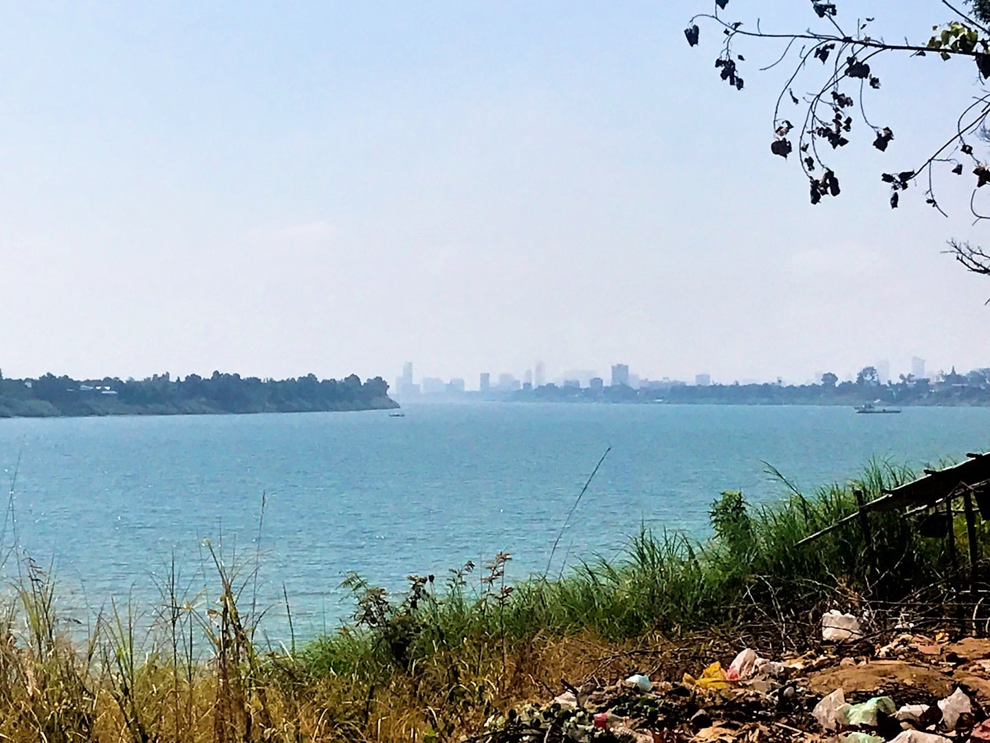 Mekong River and Phnom Penh