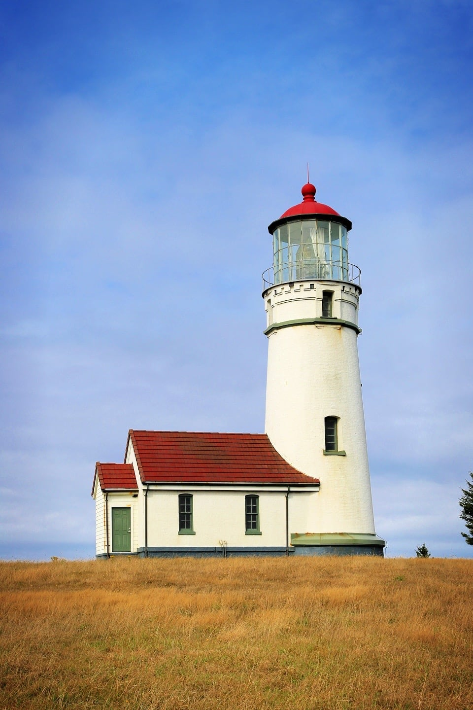 Cape Blanco Lighthouse at State Park Oregon Coast