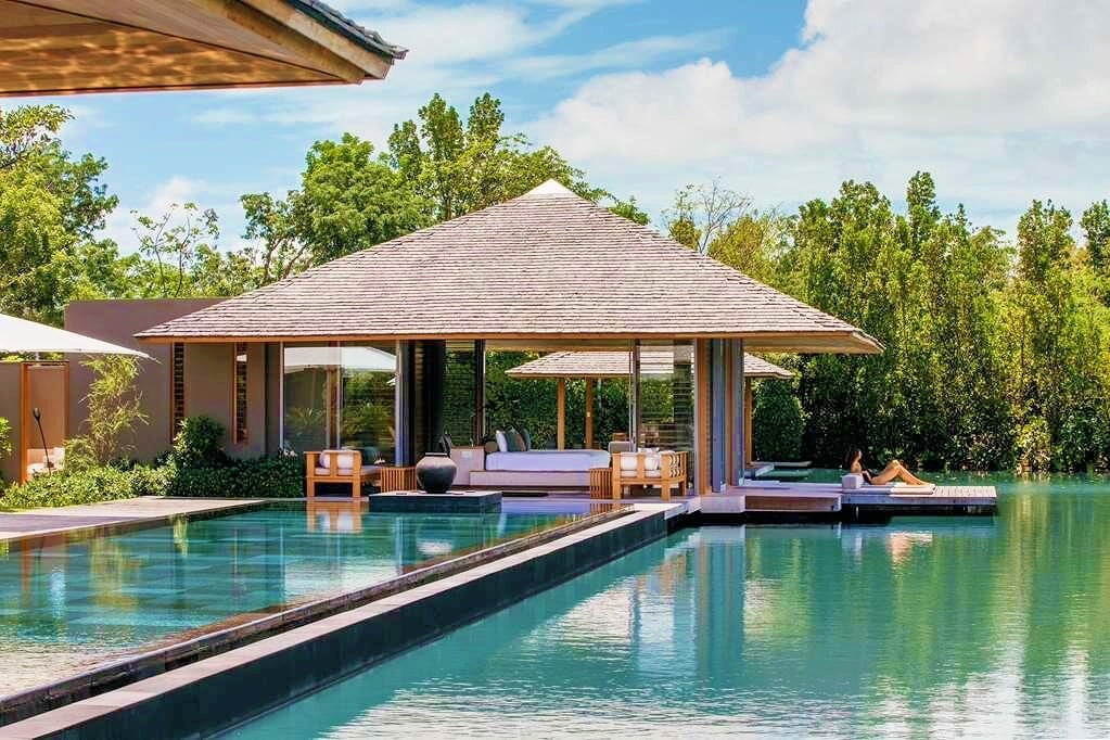 Amanyara Providenciales Turks Caicos overwater beach bungalows Caribbean