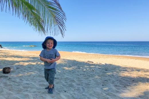 Mex Life | Carricitos Beach: 5-Mile Beach Hike With Riley